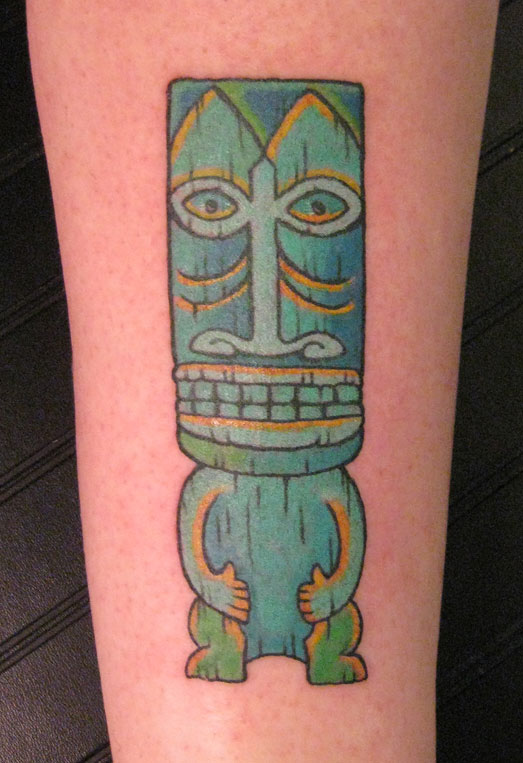 Best Tiki Tattoo Design picture 4