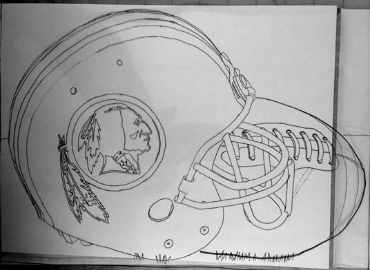 112914-redskin-helmet-drawing