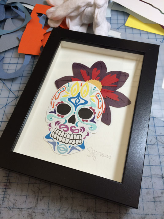 110915-sm-sugar-skull-framed